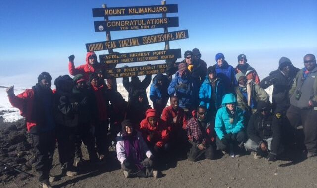 Mount Kili Climb helps CanEducate double 2015 fundraising goals!